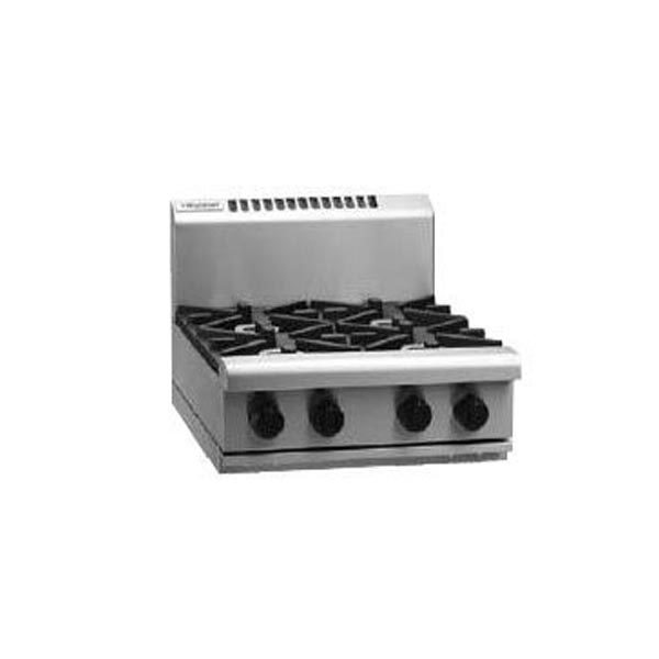 Waldorf RN8400G-B 600mm 4 Burner Gas Cooktop - Bench Top