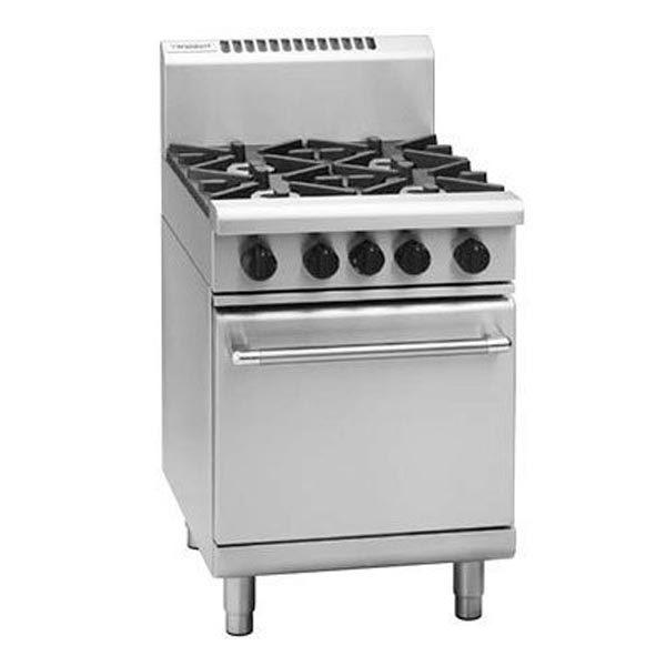 Waldorf Rn8410g 600mm 4 Burner Gas Range Static Oven