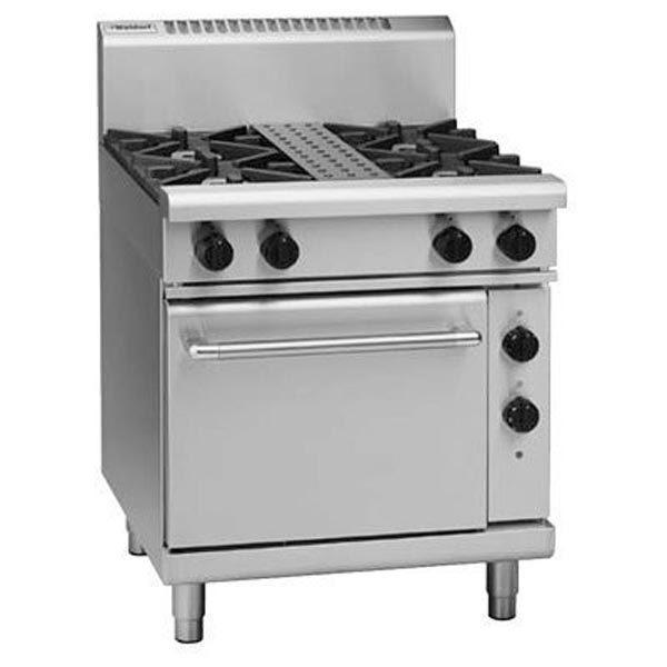Waldorf 750mm 4 Burner Gas Range - Electric Static Oven RN8510GE
