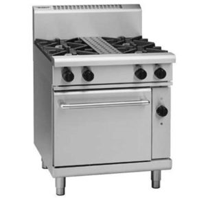Waldorf 750mm 4 Burner Gas Range – Convection Oven RN8510GEC