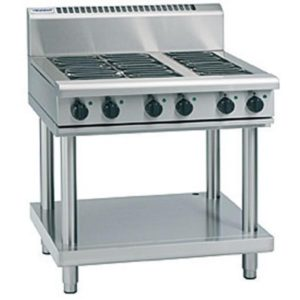 Waldorf 900mm Electric Cooktop – Leg Stand Model RN8600E-LS