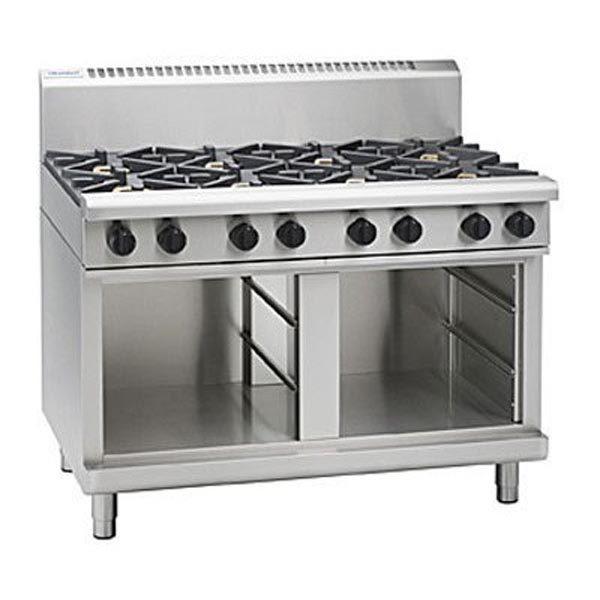Waldorf RN8800G CB 1200mm 8 Burner Gas Cooktop – Cabinet Base