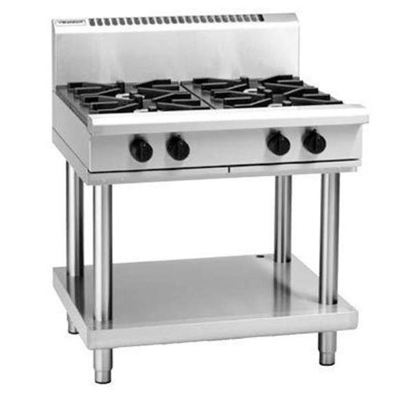Waldorf RN8900G-LS 900mm 4 Burner Gas Cooktop - Leg Stand