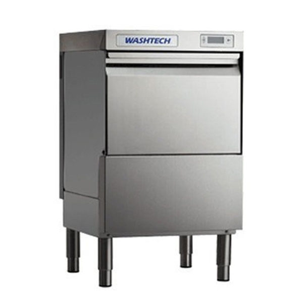 Washtech GM Professional Undercounter Glasswasher & Light Duty Dishwasher - 450mm Rack