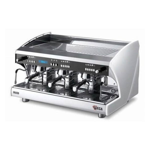 Wega Polaris TRON EVD3PR15 3 Group Electronic Coffee Machine