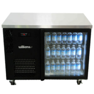 Williams HBS1UGDCBB 1-Door Back Bar Chiller