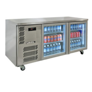 Williams Hbs2ugdcbb 2 Door Back Bar Chiller2
