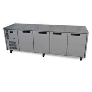 Williams HO4UFB 4-Door Refrigerated Counter