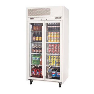 Williams Ruby Two Glass Door Fridge