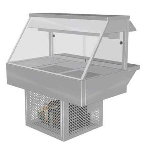 Woodson W Cfs23 Cold Food Bar Straight Glass 1030mm