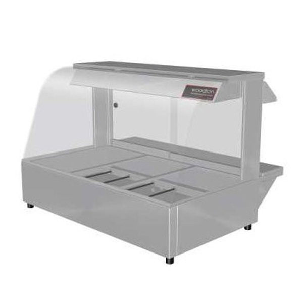 Woodson W Hfc23 Hot Food Bar Curved Glass 1030mm