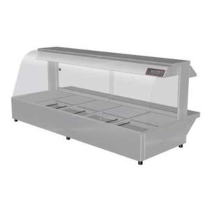 Woodson W.HFC25 Hot Food Bar – Curved Glass 1680mm