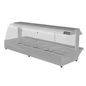 Woodson W.HFC26 Hot Food Bar – Curved Glass 2005mm
