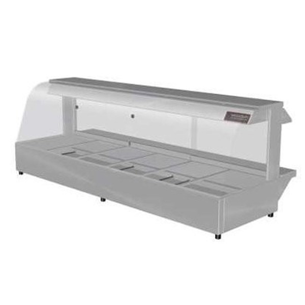 Woodson W Hfc26 Hot Food Bar Curved Glass 2005mm