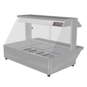 Woodson W.HFS23 Hot Food Bar – Straight Glass 1030mm