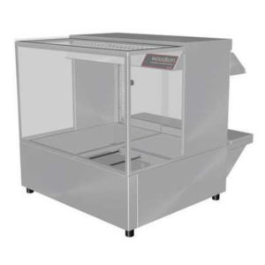 Woodson W.HFSQ22 Hot Food Bar – Straight Glass 705mm