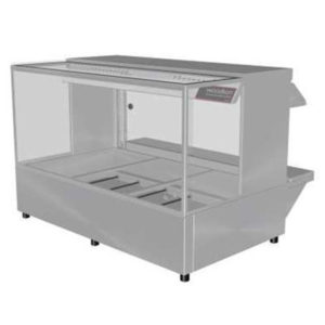 Woodson W.HFSQ23 Hot Food Bar – Straight Glass 1030mm