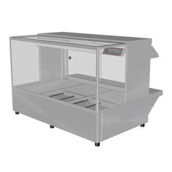 Woodson Whfsq23 Hot Food Bar Straight Glass 1030mm