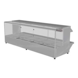 Woodson W.HFSQ26 Hot Food Bar – Straight Glass 2005mm