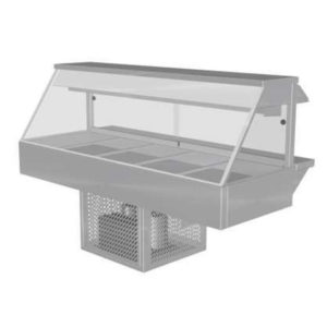 Woodson W.CFS25 Cold Food Bar – Straight Glass 1680mm