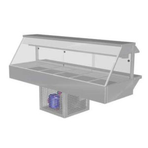Woodson W.CFS26 Cold Food Bar – Straight Glass 2005mm