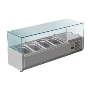 F.E.D. VRX1200/380 DELUXE Pizza / Sandwich Bar Prep Top – 1200mm