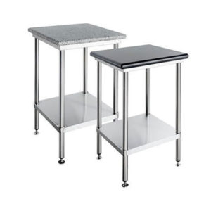 Simply Stainless SS23.1200b/w Granite Topped Bench – 1200mm
