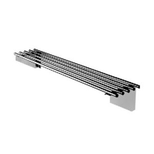 Simply Stainless SS11.2100 Piped Wall Shelf – 2100mm