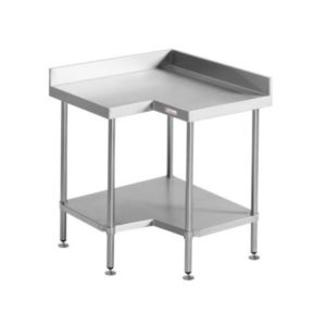 Simply Stainless SS04.7.0900 Corner Bench With Splashback (700 Series)