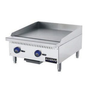 2 Burner Gas Griddle Hotplate