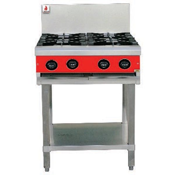 4 Burner Cooktop With Stand