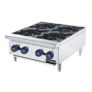4 Burner Open Gas Cooktop