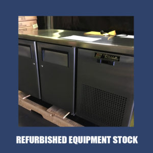 True 2 Door Under Counter Freezer TGU-2F