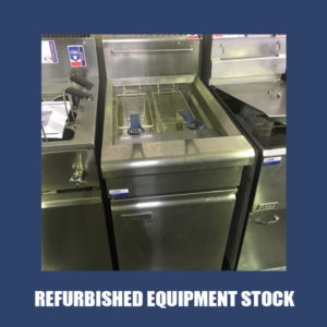 Waldorf Single Pan Fryer – NAT GAS FN8120G