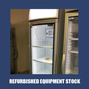Bromic Single Glass Door Upright Chiller GM0400LC With 3 Months Warranty