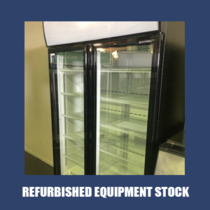 Bromic 2 Glass Door Fridge GM1000 LBCAS