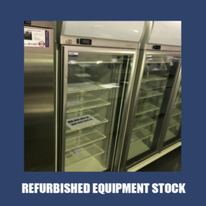 Bromic Single Glass Door Fridge GD0500LF