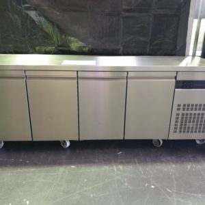 ICE Inomak 4 Door Solid Door Undercounter Fridge