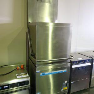 Meiko Pass Through Dishwasher With Hood
