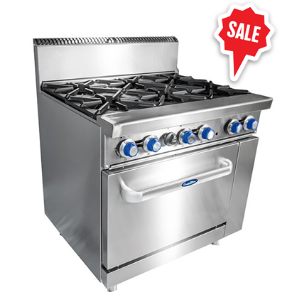 6 Burner With Oven